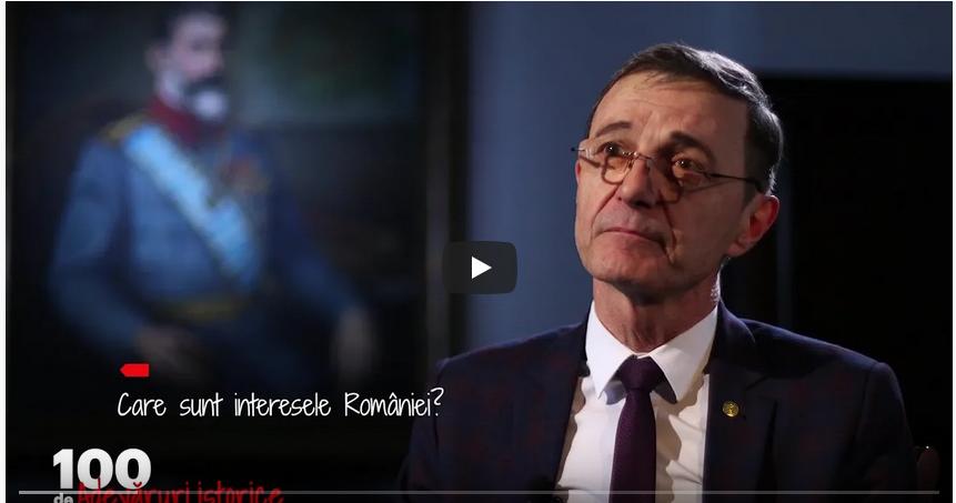O colectie de 100 scurte subiecte istorice exprimate de dl academician Ioan-Aurel Pop la Trinitas TV