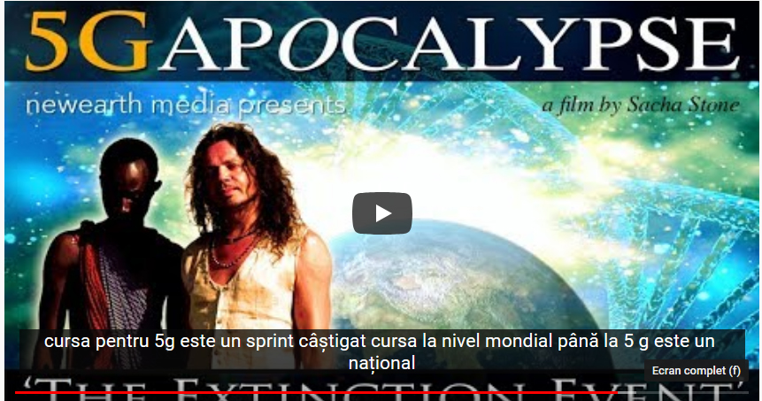 Apocalipsa 5G – EVENIMENTUL DE EXTINTIE
