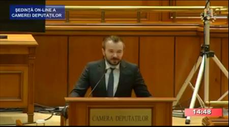 Declaratia dlui Andrei Daniel Gheorghe – Camera Deputatilor