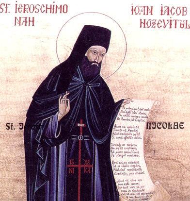 Aflarea  moaștelor Sf Ioan Iacob Hozevitul