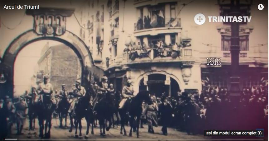 Arcul de Triumf – istoria constructiei si a simbolisticii – documentar Trinitas TV