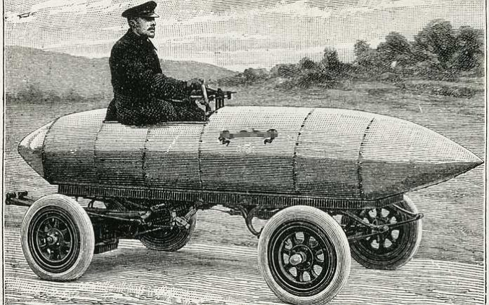 """Mergea fără niciun fel de combustibil. Automobilul creat de Tesla a fost """"îngropat"""""""