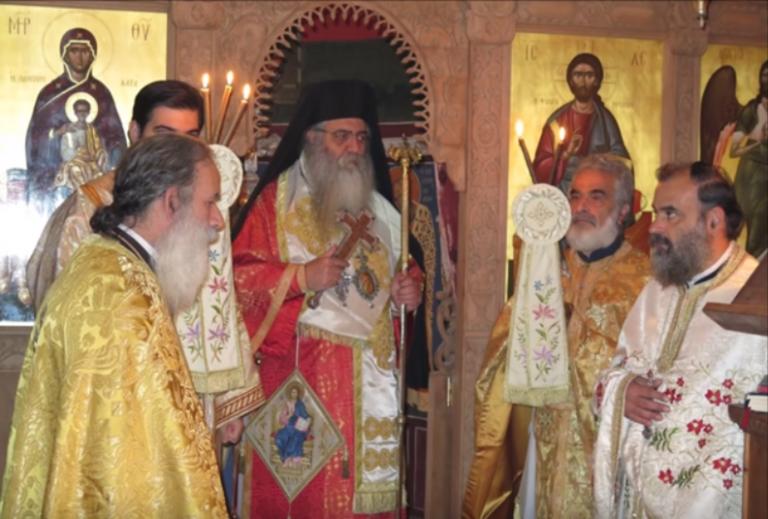 Predica Mitropolitului Neofit de Morfou la Sfanta Liturghie in cinstea sarbatorii Sfantului Apostol Tihic